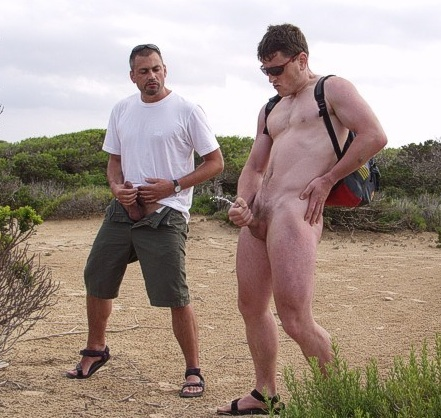 Two Hot Guys Have Public Extreme Fun