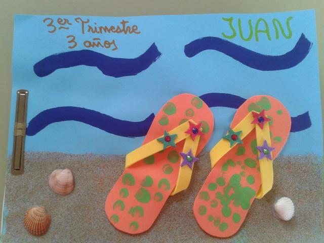 Recursos para educaci n infantil murales para el verano - Murales con fotos ...