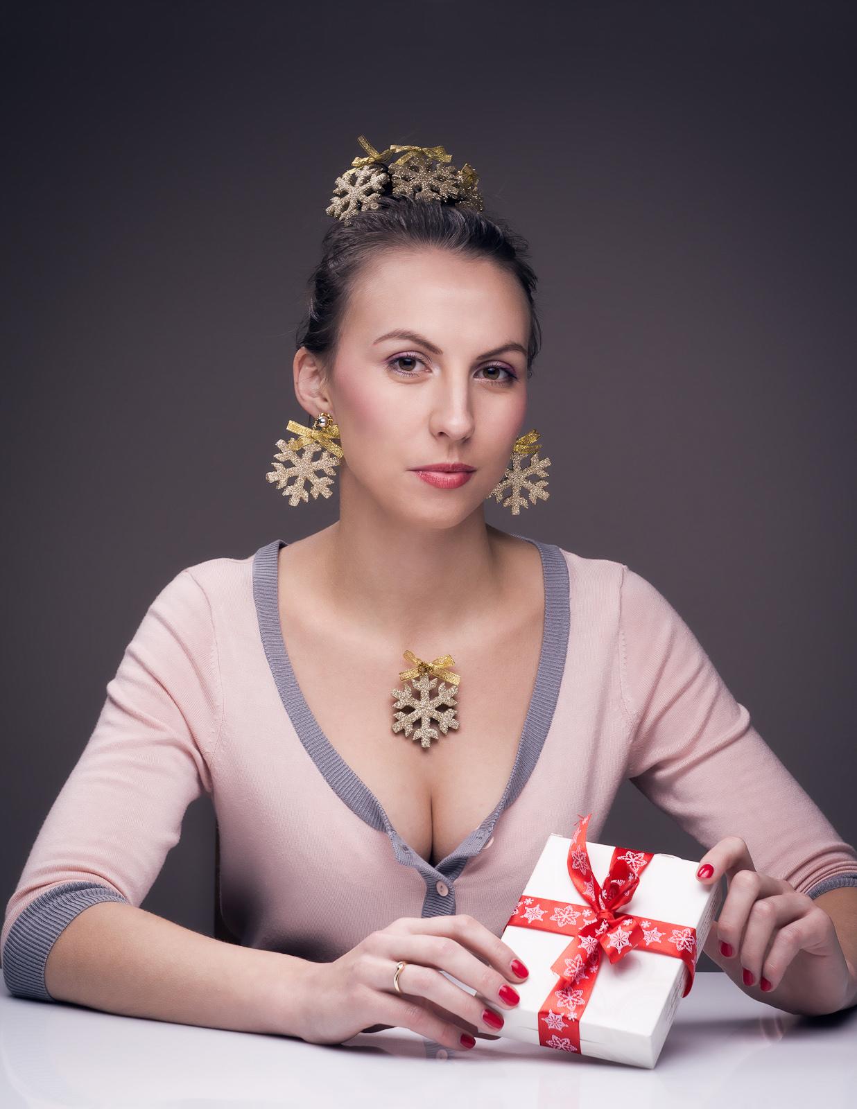 Koncepcyjna fotografia portretowa. Pierwsza gwiazdka. fot. Łukasz Cyrus