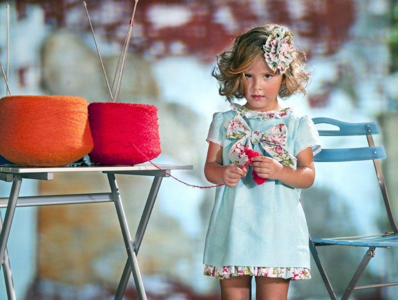 coleccion madejas vestido niña