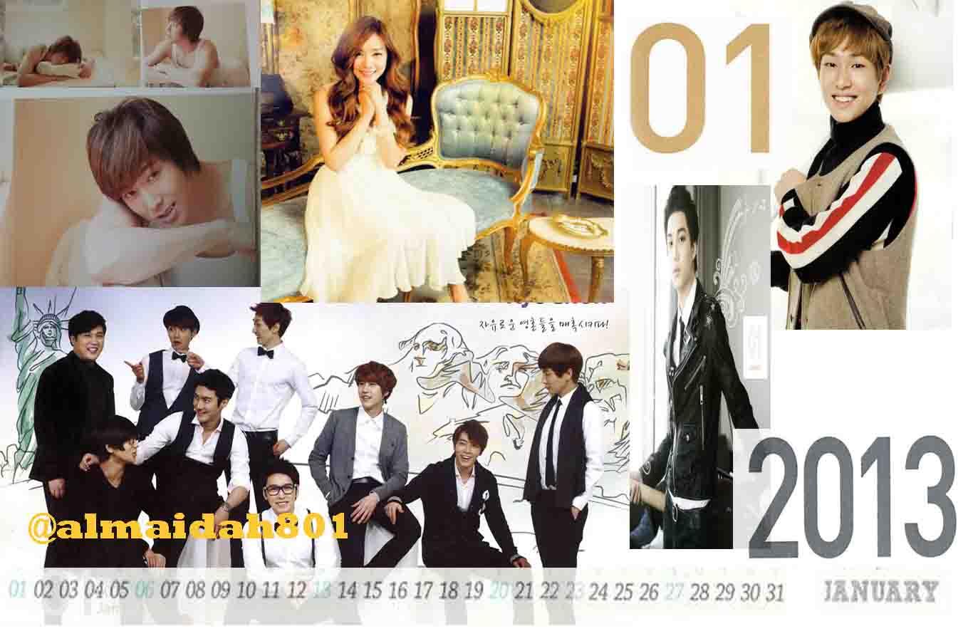 guten tag preview smtown calendar 2013 edited