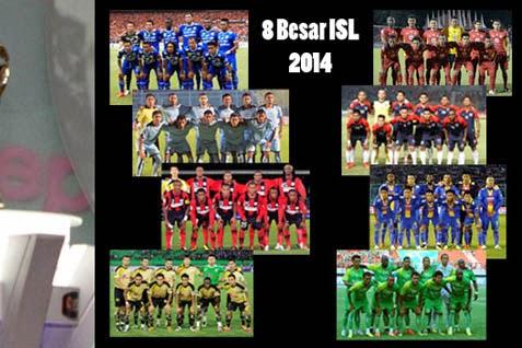 Jadwal Puataran 2 Babak 8 Besar ISL 2014