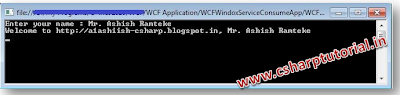 WCF hosted in Windows Service consumed in Console.