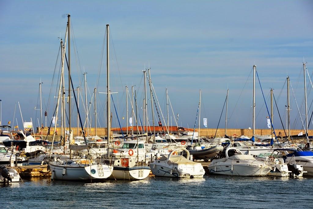 Port of Cambrils sail boats