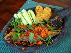 Resep membuat cobek ikan mas