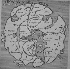 The Roman map