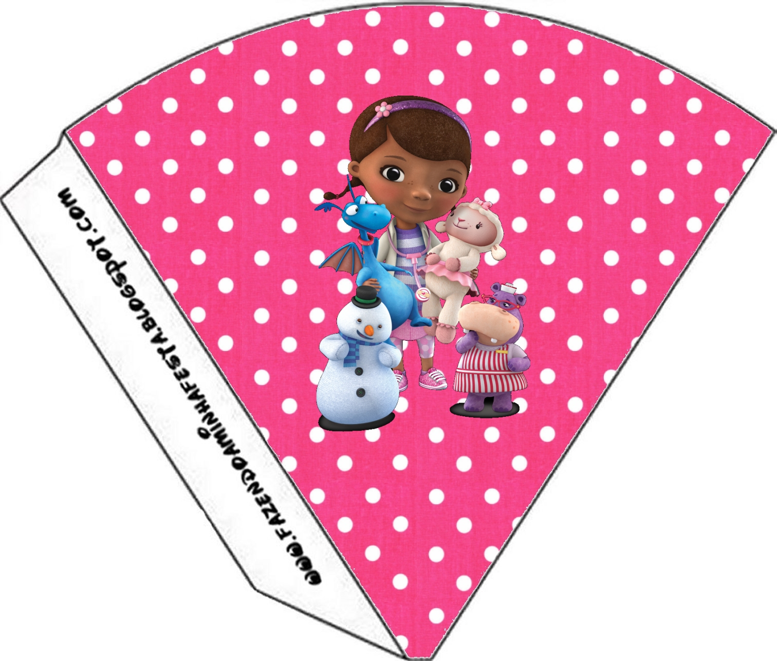 This is a graphic of Exhilarating Doc Mcstuffins Party Printables
