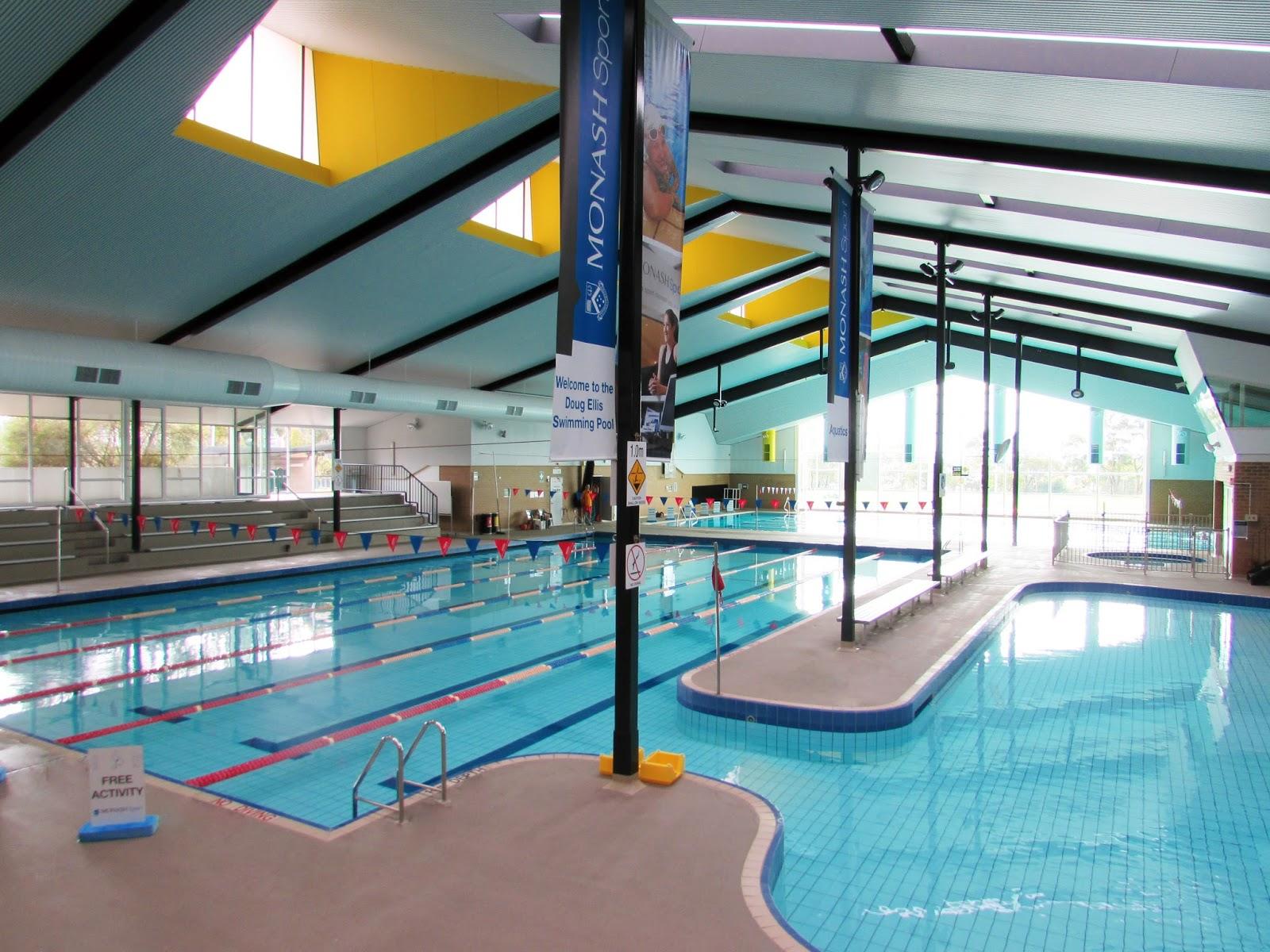 monash sport platinum award for doug ellis pool