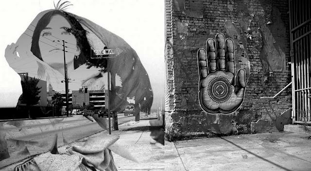 patti smith, kryptik, graffiti, photomontage, heidi utz photography