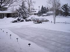 Denver's February  2012 Snow