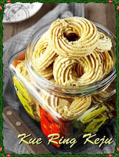 Resep Cara Membuat Kue Ring Keju Chip Gurih