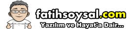 Fatihsoysal.com Yazlm ve Hayata Dair