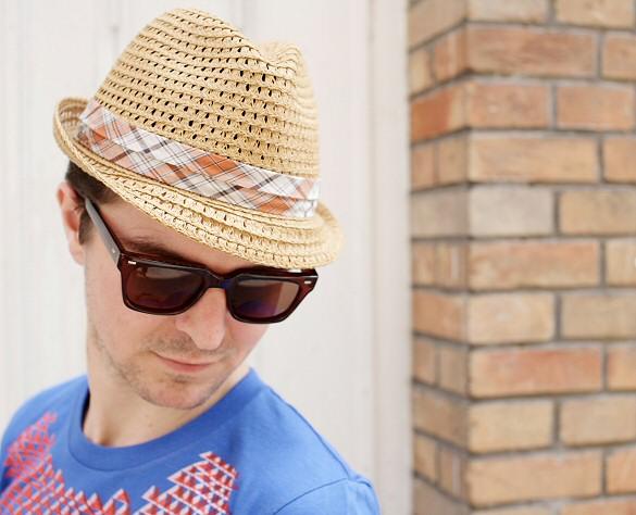 Chapeau homme Stetson, lunettes de soleil spitfire london