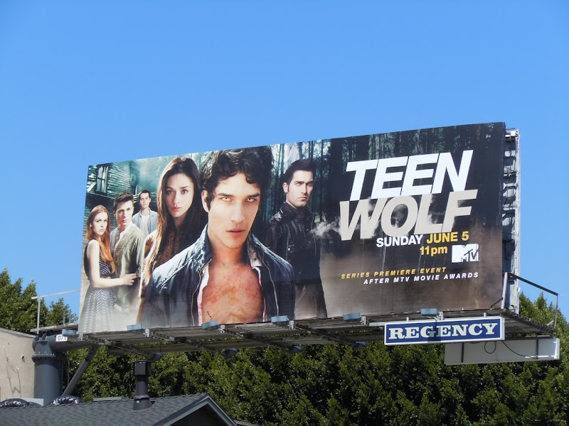 Teen Wolf MTV billboard