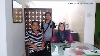 wadi iman guesthouse, homestay, shah alam
