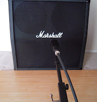 Miking A Marshall Cabinet image from Bobby Owsinski's Big Picture blog