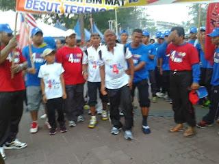 Walk 4 Malaysia tiba di Batu Buruk