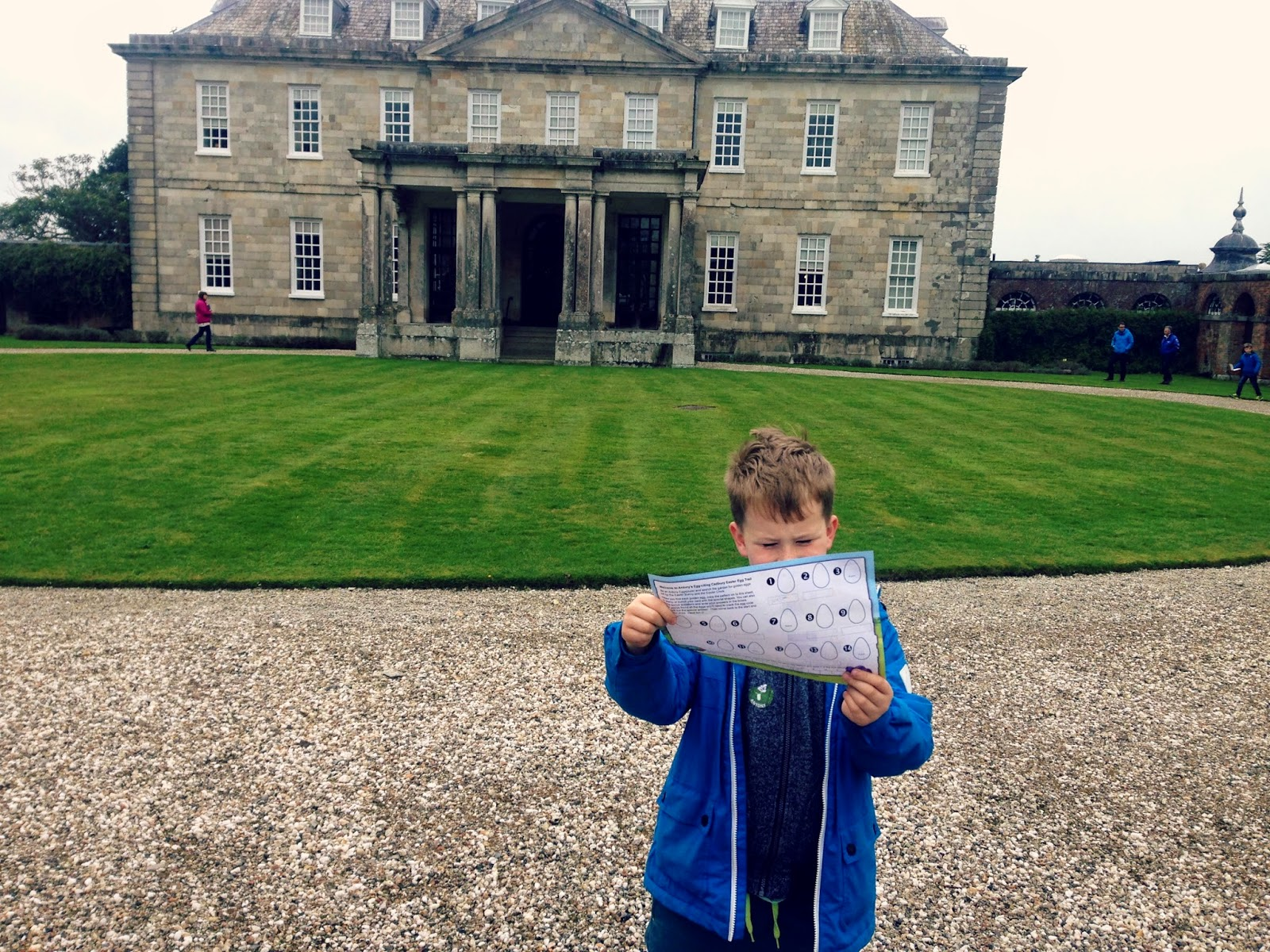 antony house, easter, egg hunt, cadbury, trail,