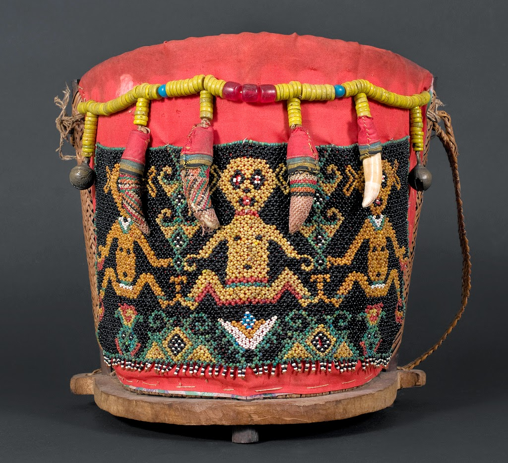 Baby carrier from Borneo, 20th century