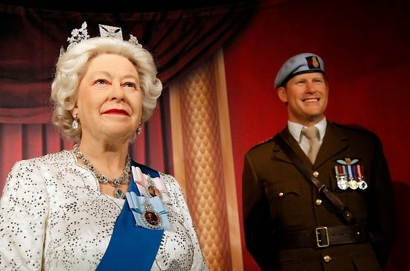 The British Royal Family Wax Figures At Madame Tussauds In Washington DC