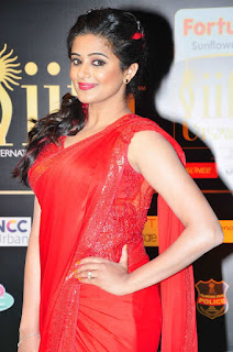 Actress Priyamani Latest Stills in Red Saree at IIFA Awards 2016  25282.jpg
