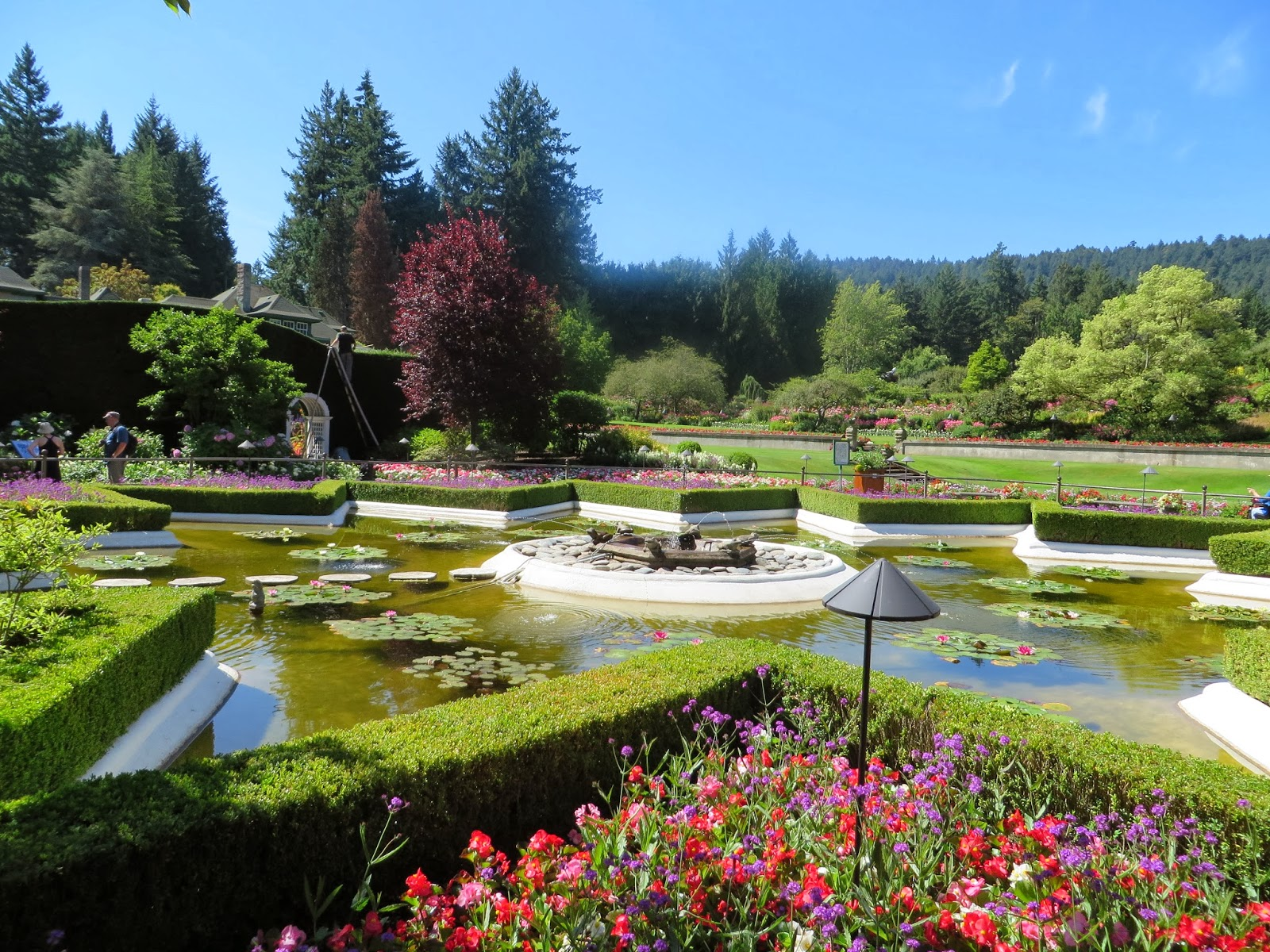 Debbie Travels Reviews And More The Butchart Gardens Victoria British Columbia Canada
