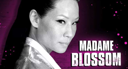 The Man With The Iron Fists: Lucy Liu as Madame Blossom