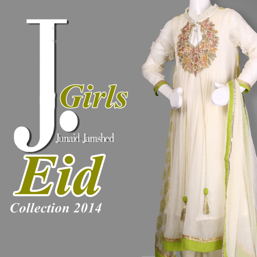 J. Junaid Girls Eid Collection 2014