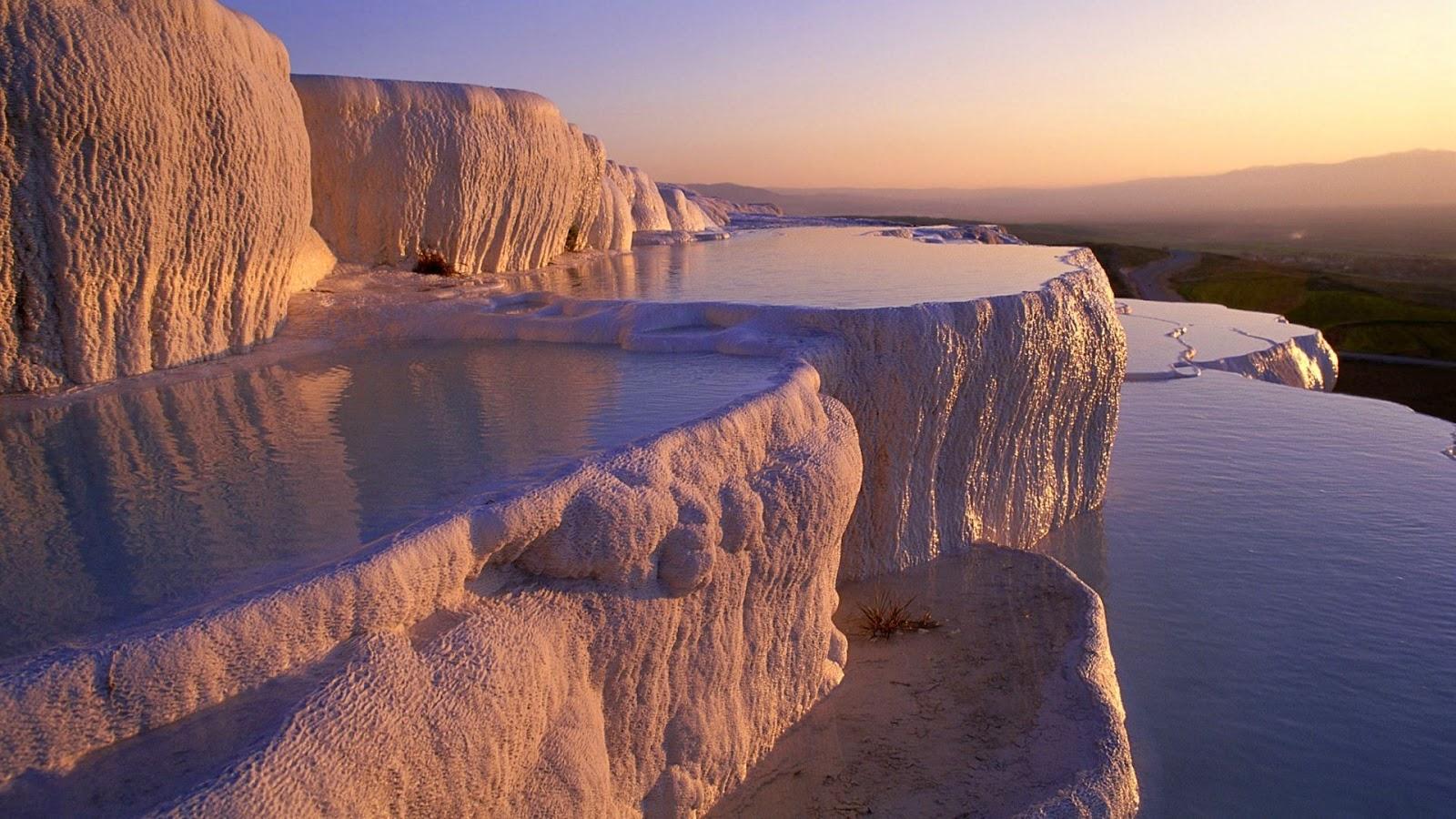 Las Cascadas Petrificadas de Pamukkale, Turquía