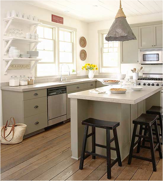 Cottage kitchen ideas room design inspirations for Cottage kitchen designs
