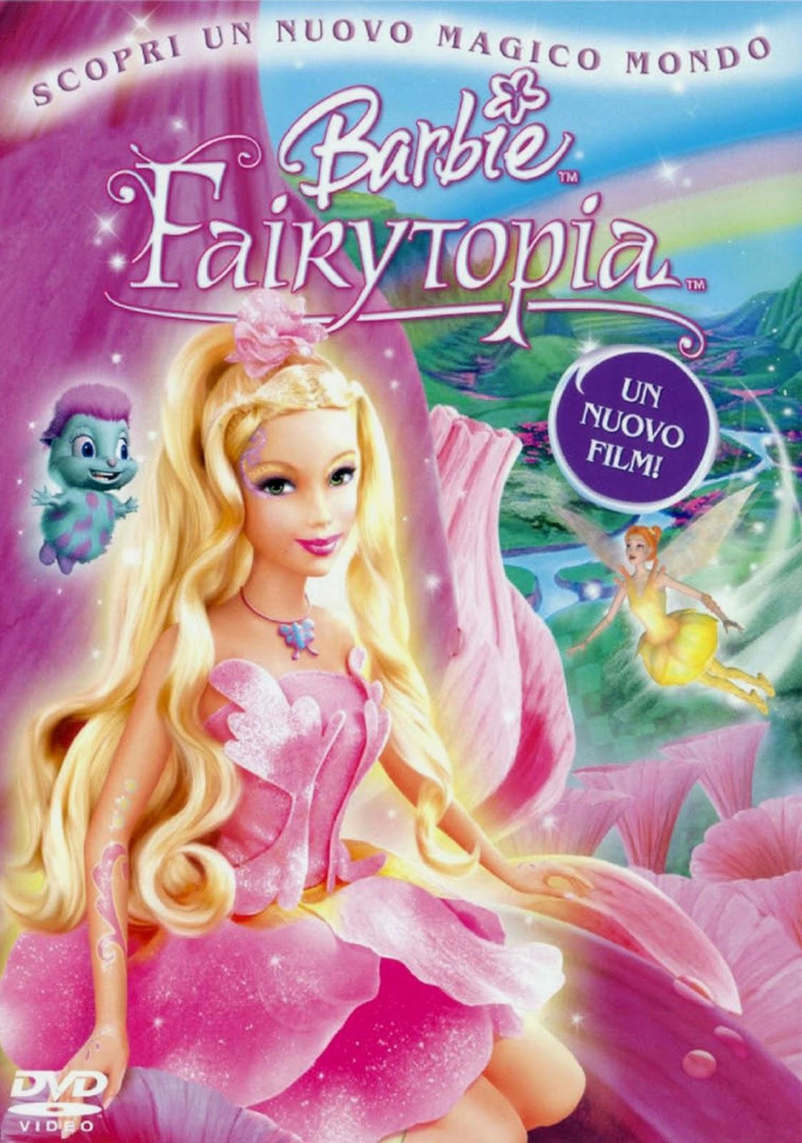 ดูการ์ตูน Barbie Fairytopia นางฟ้าในโลกแห่งความฝัน