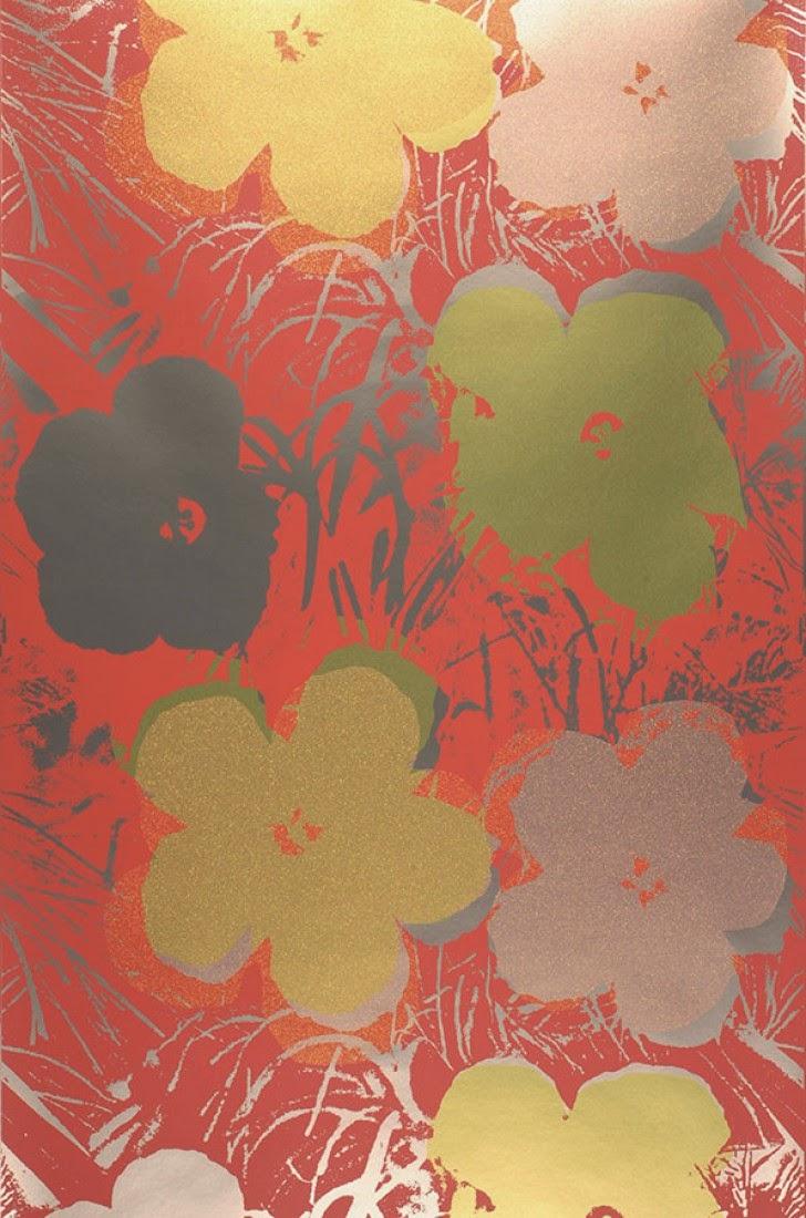 Papel de parede hall de entrada - Andy Warhol - loja Papel de Parede Anos 70
