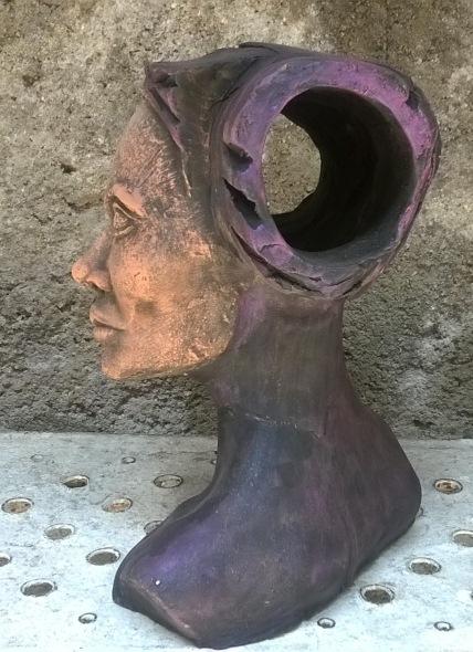 Academia de una cabeza femenina, Rossana Oliva Reinés