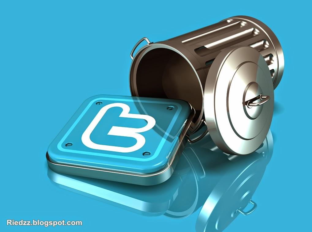 hapus akun twitter permanen