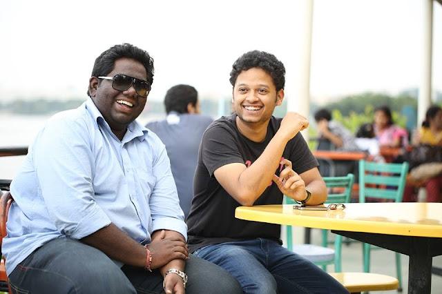 Harsha Chemudu celebrates B'Day with Sabaraish - Photo