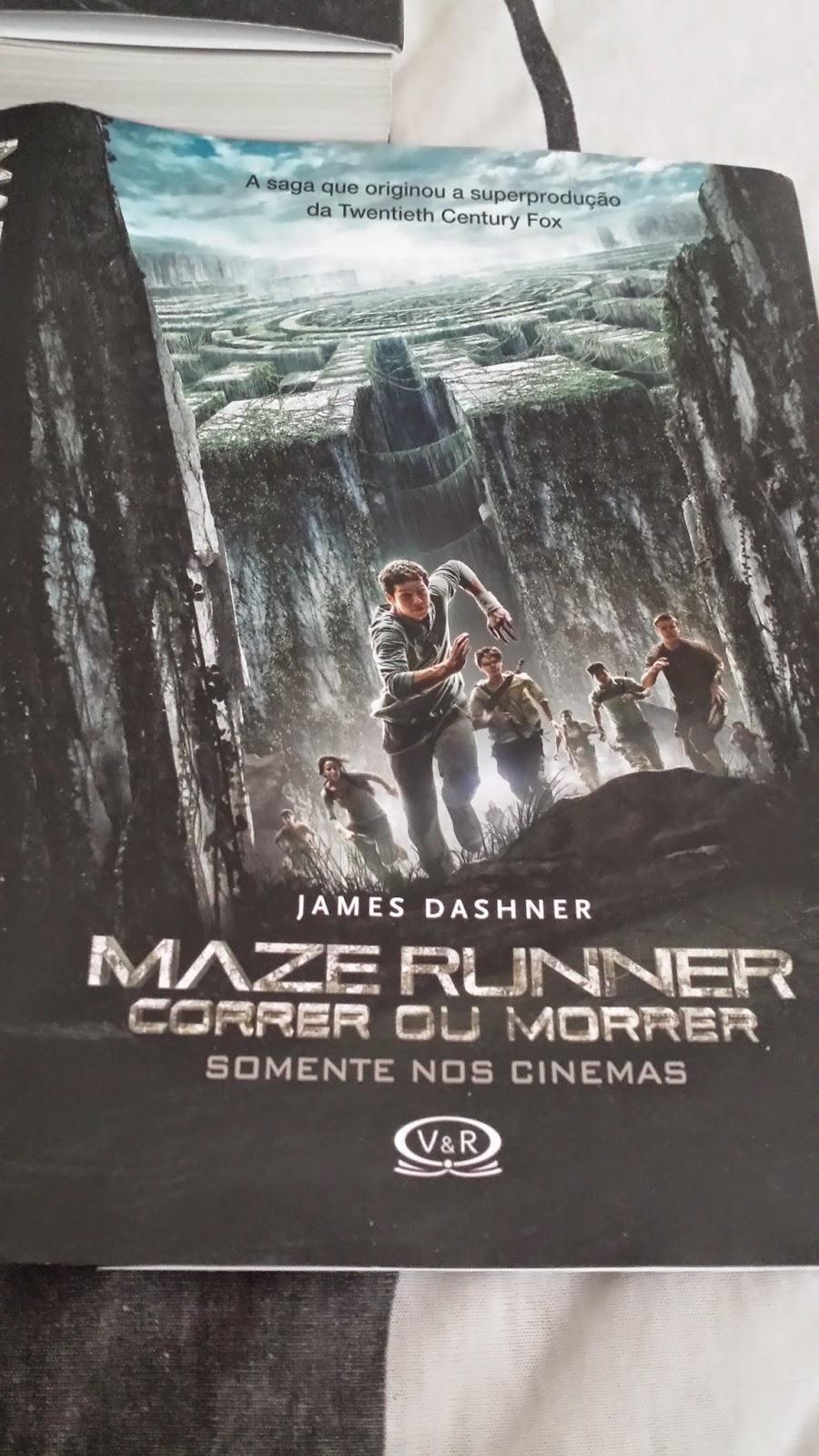 uma saga que possui um total de quatro livros escrito por james dashner come ando com o livro que originou o filme maze runner correr ou morrer
