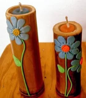 http://manualidadesreciclables.com/13208/porta-velas-de-bambu