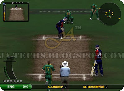 EA Sports Cricket 2007 PC Game England vs South Africa