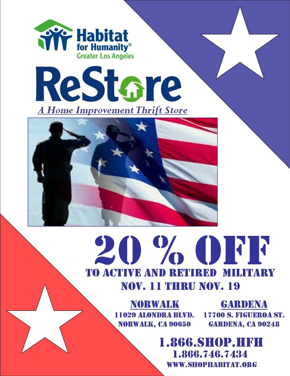 Building A Greater Los Angeles Restore Military Discount