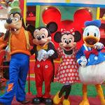 Personagens da Disney em S�o Lu�s