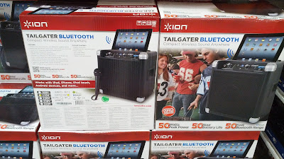 Stream music when tailgating with the Ion IPA57 Bluetooth Speaker System
