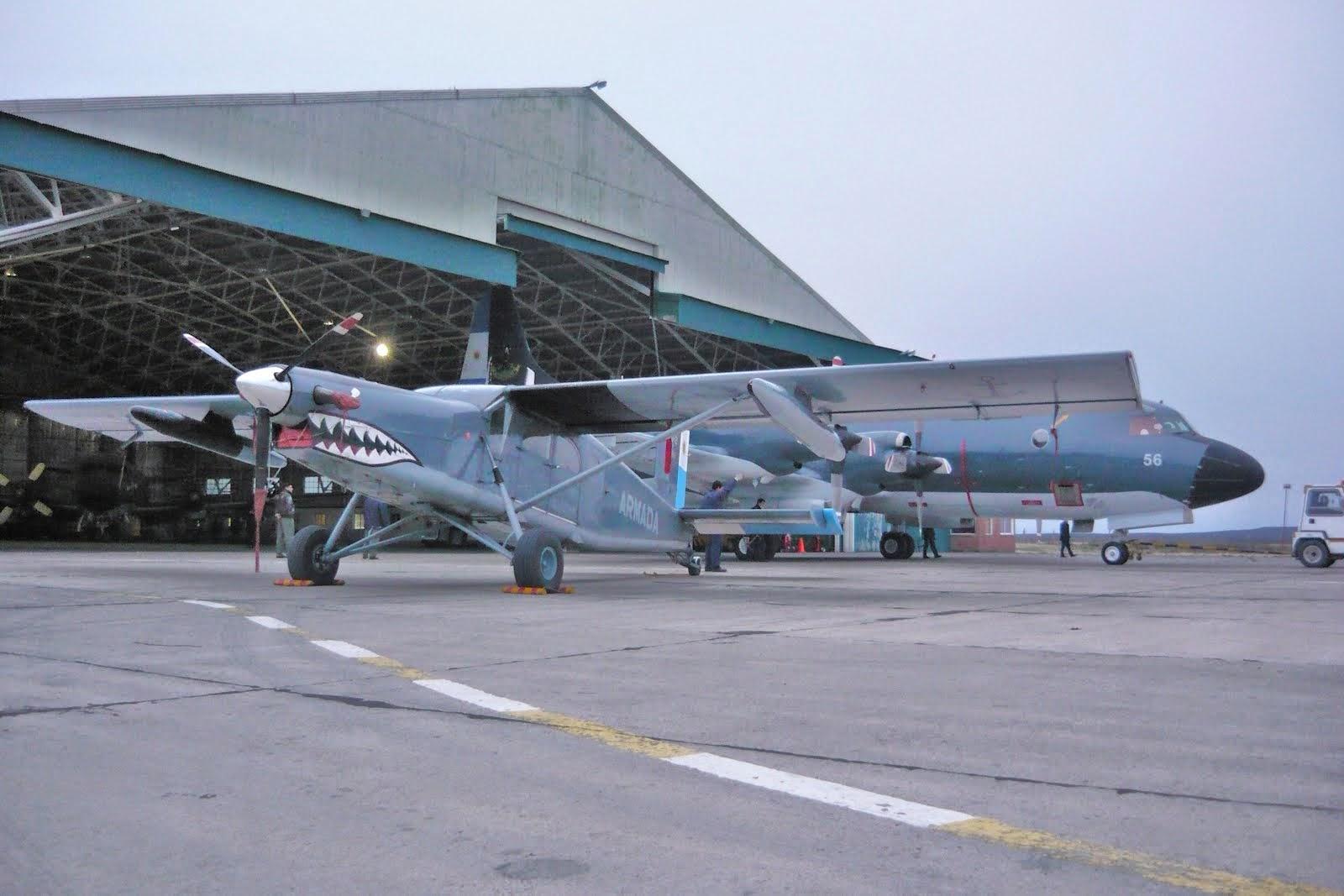 La Escuadrilla Aeronaval Antisubmarina (EA2S) en Trelew