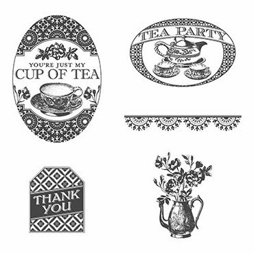 Stampin'UP!'s Tea Party Stamp Set.