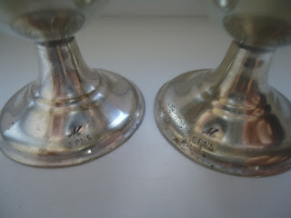 Two Vintage Antique Silver Plated Egg Cups Limited Edition