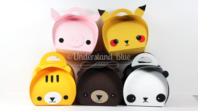 Anime Animals with the Curvy Keepsake Box