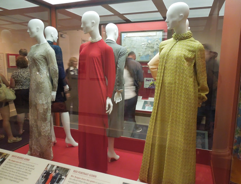 Nancy Reagan dresses
