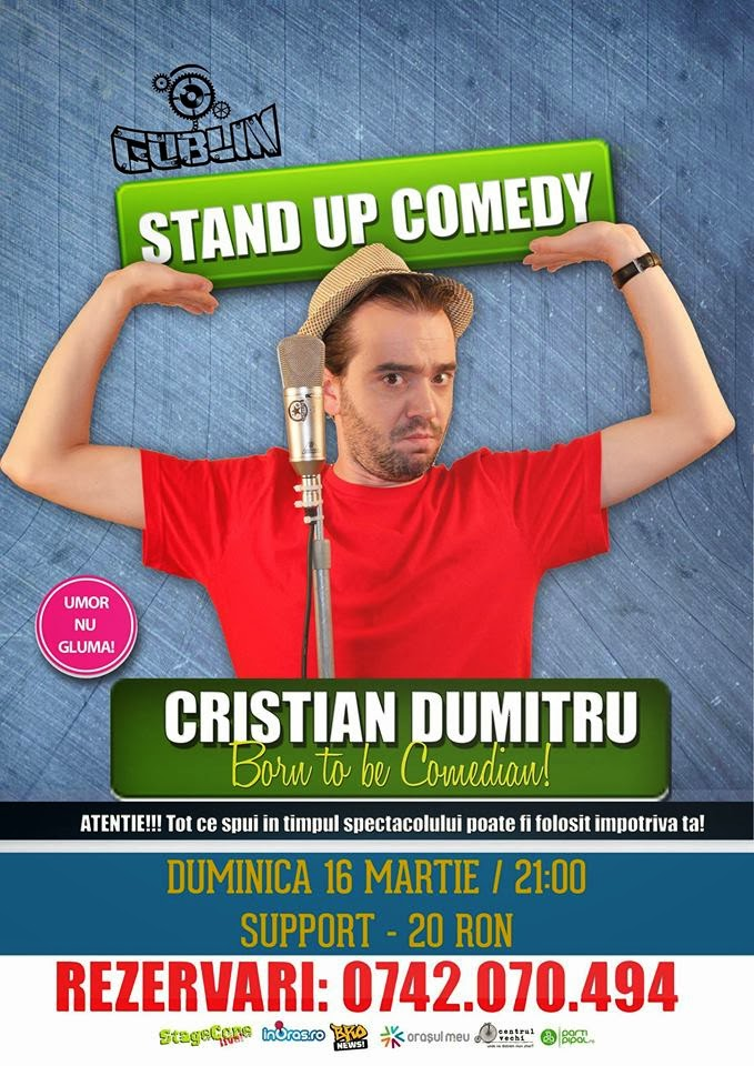 stand-up comedy duminica constanta romania