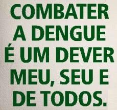 INFORMATIVO DE COMBATE A DENGUE