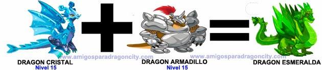 como sacar el dragon esmeralda en dragon city combinacion 1