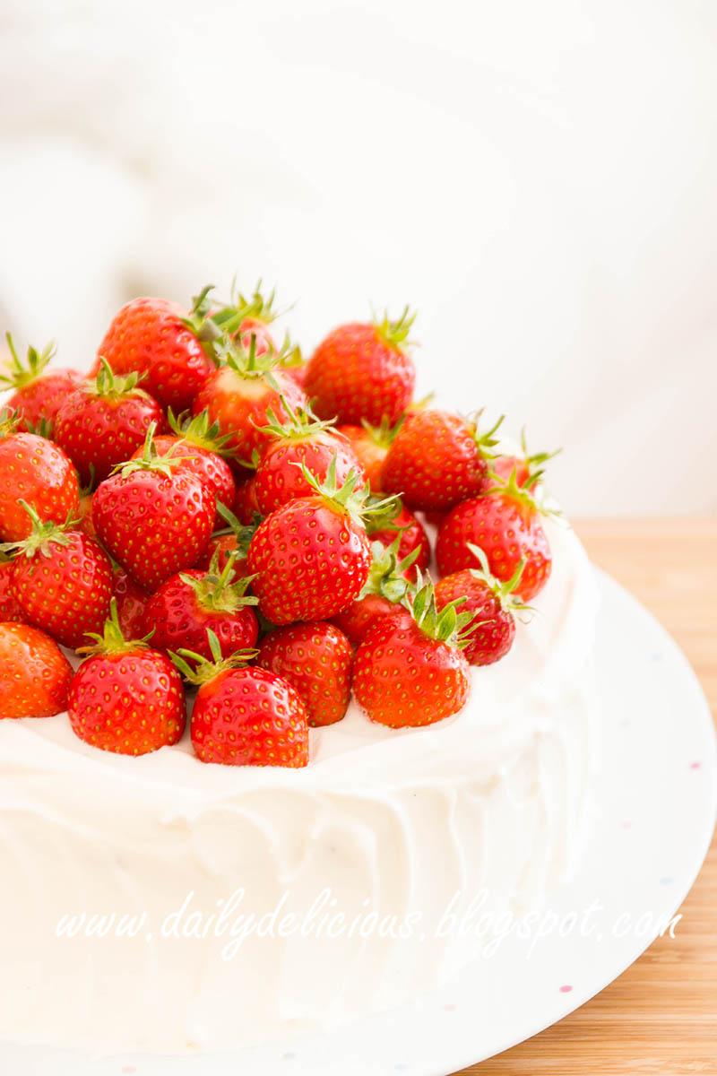 Strawberry Shortcake Using Pound Cake